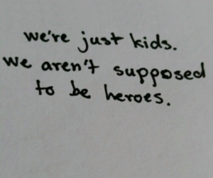 heroes, aesthetic, and kids image
