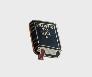 pins, aesthetic, and book image