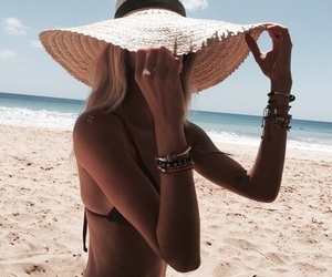 accessories, sun, and beach image