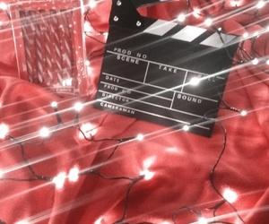 christmas, girl, and red image