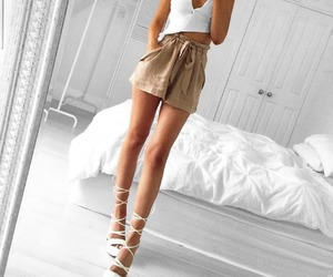 casual, pretty, and fashion image