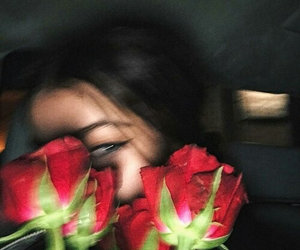 rose, girl, and tumblr image