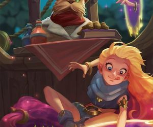zoe and league of legends image