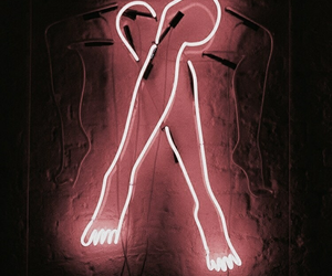 pink, lights, and neon image