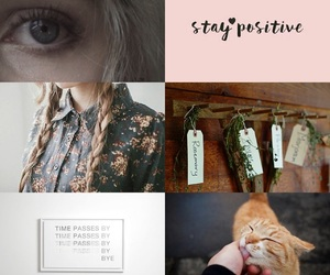 blond hair, cat, and prim image