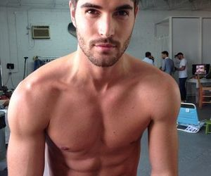 boys, chicos, and fit image