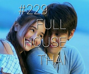 film, full house, and love image