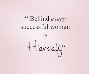 woman, quotes, and success image