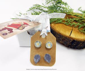 etsy, polymer clay jewelry, and christmas gift image