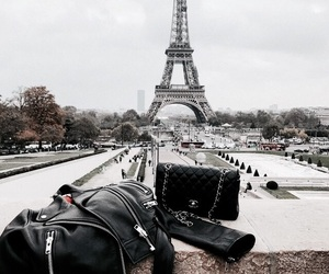 paris, city, and bag image