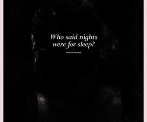 quotes, night, and sleep image