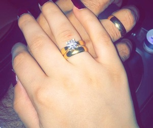 baby, distance, and ring image