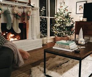 christmas, home, and cozy image