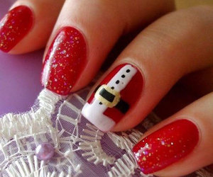 christmas nails, christmas nail art, and xmas nails image