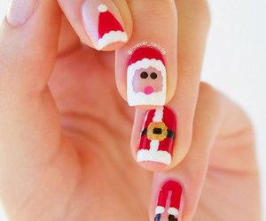 christmas nails, christmas nail art, and xmas nails image