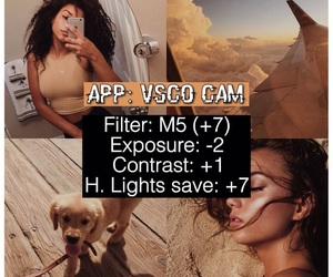 filter, vsco, and filtros image