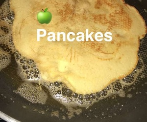 food, pancakes, and snaps image