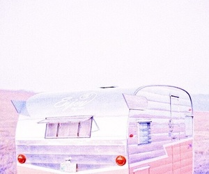 pink, pastel, and travel image