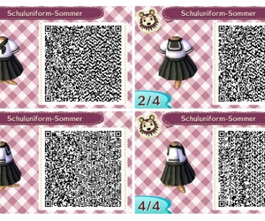 animal crossing, qr, and qr code image