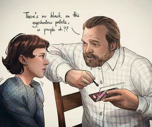 eleven, stranger things, and elfi image