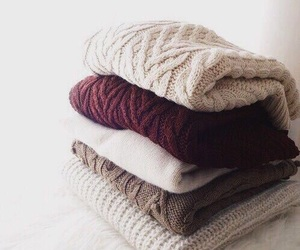 sweater, winter, and fall image