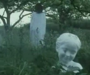 creepy and vhs image