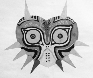 black and white, drawing, and spikes image