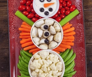 christmas, snowman, and decoration image
