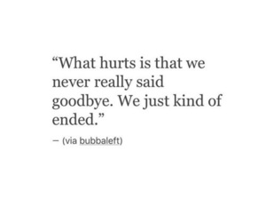 quotes, goodbye, and heartbreak image