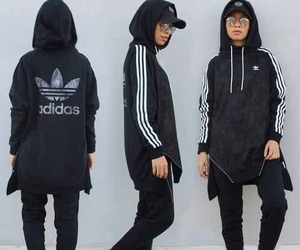 adidas and hijab fashion image