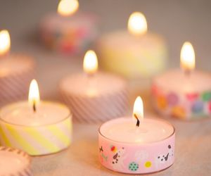 candles, diy, and inspiration image