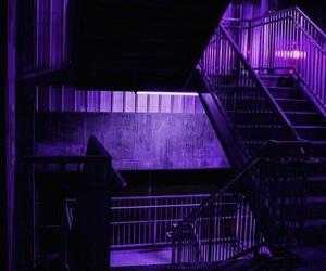 purple, aesthetic, and dark image