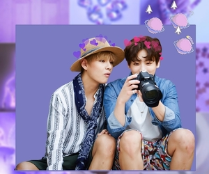 lilac, bts, and vkook image