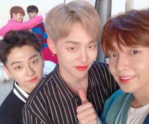 jbj, mxm, and hyunbin image