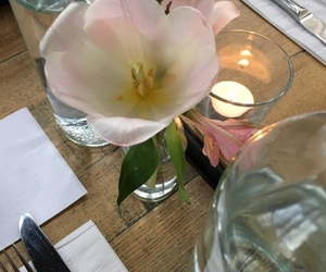 beautiful, dinner, and flower image