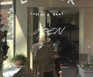 aesthetic, asian, and cafe image