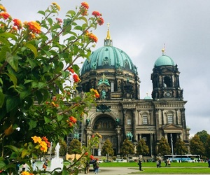 berlin, cathedral, and city view image