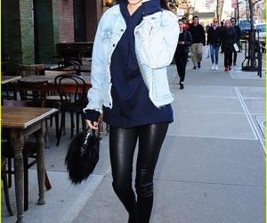 denim jacket, Kendall, and style image