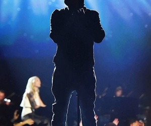 concert, eminem, and walk on water image