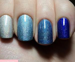 blues, fading, and glitter image