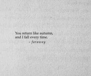 quotes, autumn, and fall image
