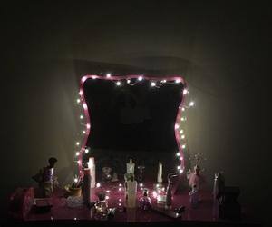 bedroom, grunge, and light image