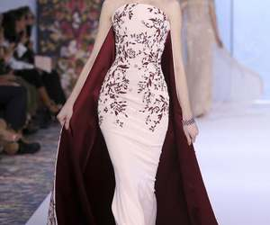 dress, ralph and russo, and fashion image