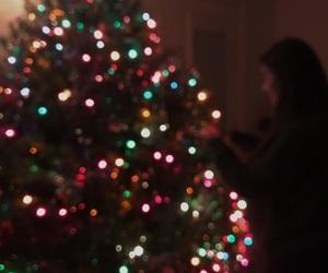aesthetic, christmas, and christmas lights image