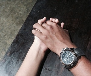 boyfriend, hold hands, and couple image