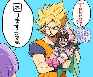 milk and goku image