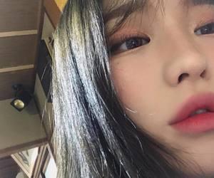 girl, korean, and ulzzang girl image