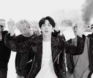 idol, jin, and kim image