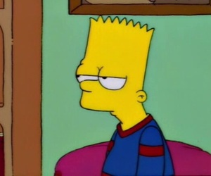 simpsons, bart, and bart simpson image