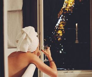 paris, bath, and night image